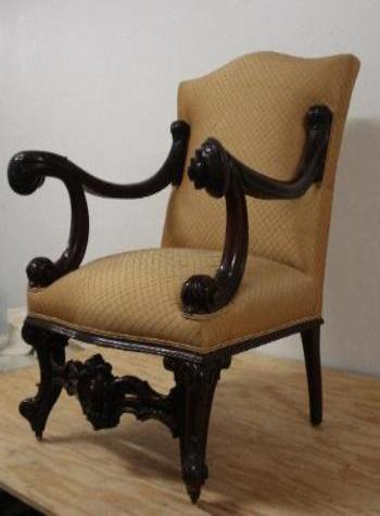 Arm Wood Upholster